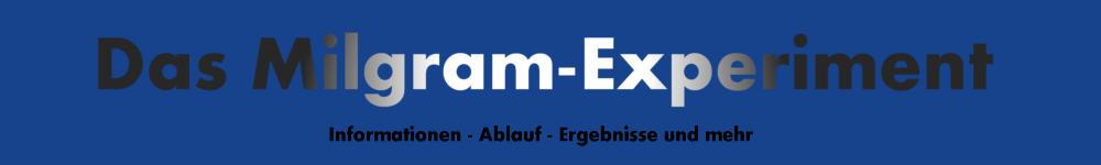 Logo Milgram-Experiment